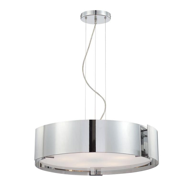 Eurofase Lighting 12531-042 Chrome Contemporary Dervish Pendant