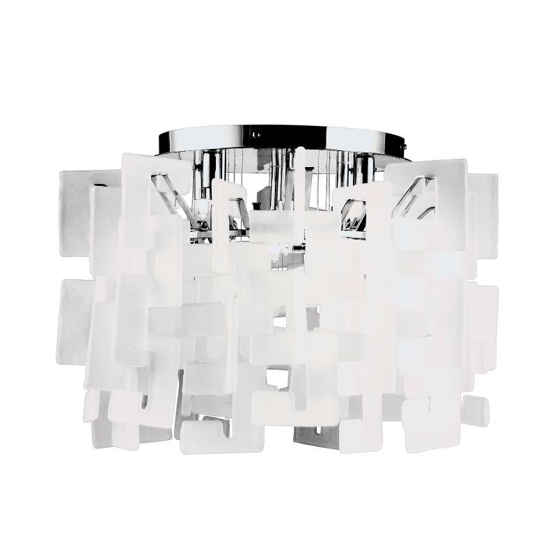 Eurofase Lighting 14553 Eight Light Down Lighting Flush Mount Ceiling