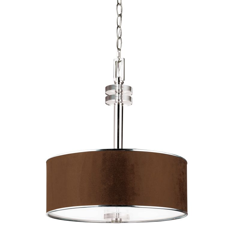 Eurofase Lighting 15331-028 Satin Nickel Contemporary Savvy Pendant