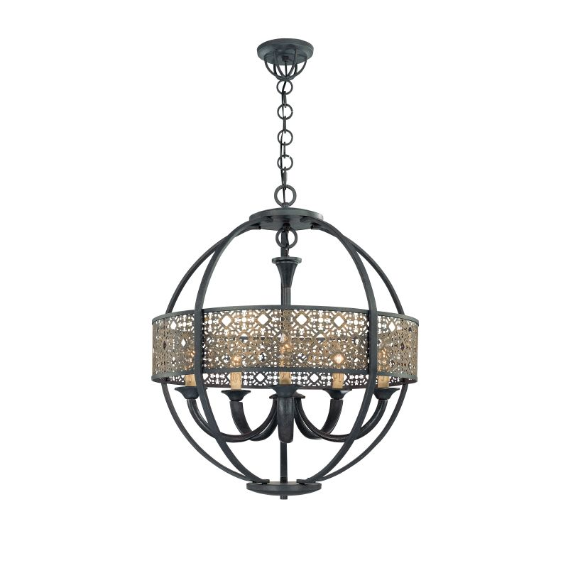 Eurofase Lighting 19368 5 Light Arsenal Chandelier from the Classics