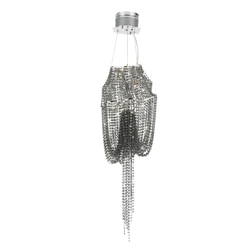 Eurofase Lighting 19388 Crystal 10 Light Vidra Pendant from the