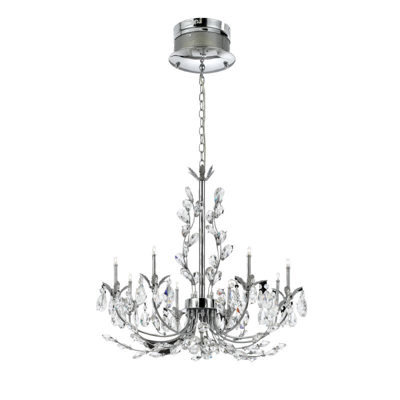 Eurofase Lighting 19393 Crystal 8 Light Giselle Chandelier from the
