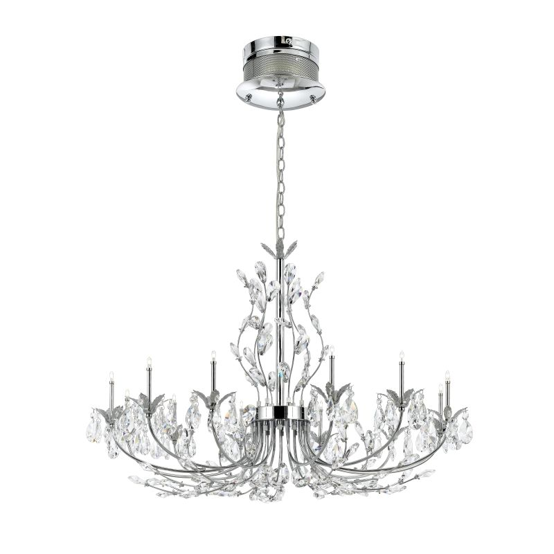 Eurofase Lighting 19394 Crystal 12 Light Giselle Chandelier from the