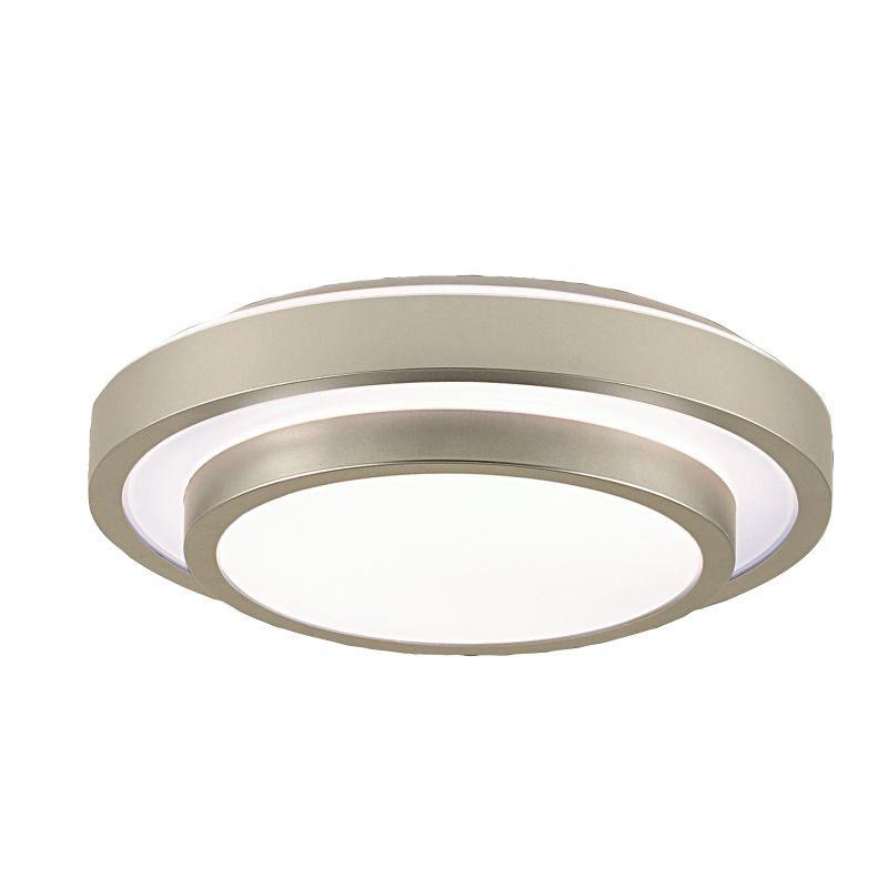 Eurofase Lighting 19588-018 Silver Contemporary Ceiling Light