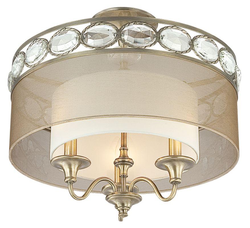 Eurofase Lighting 20295 Bijoux 3 Light Semi Flush Mount Ceiling Sale $576.00 ITEM: bci1702128 ID#:20295-011 UPC: 773546213790 :