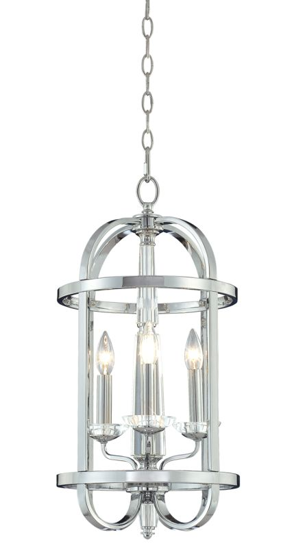 Eurofase Lighting 20315 Crystal 3 Light Foyer Pendant from the Senze