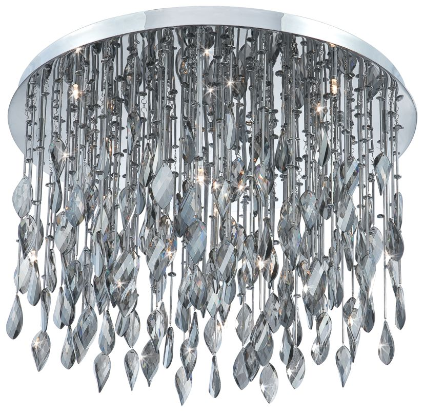 Eurofase Lighting 20353 Crystal 16 Light Flush Mount Ceiling Fixture
