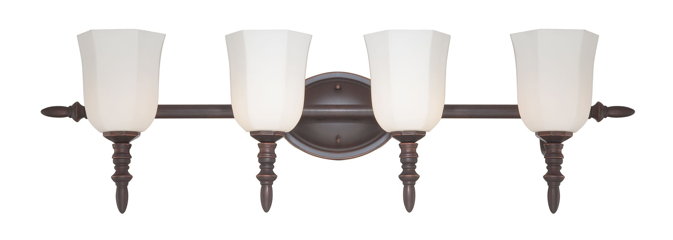 Eurofase Lighting 20377 4 Light Bathroom Wall Fixture from the Llody