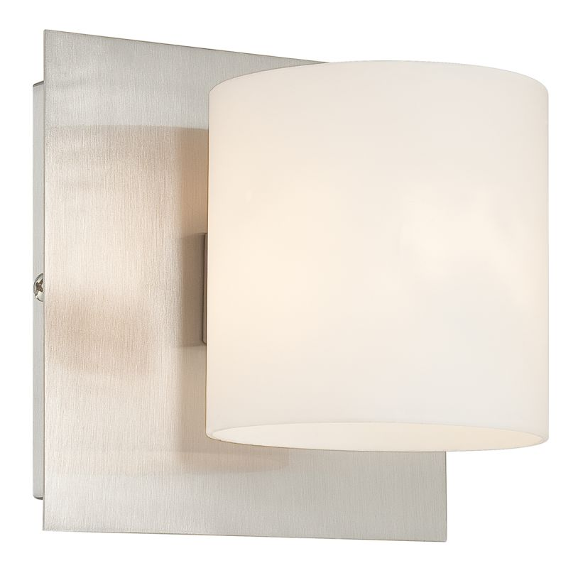 Eurofase Lighting 20378-011 Satin Nickel Contemporary Geos Wall Sconce