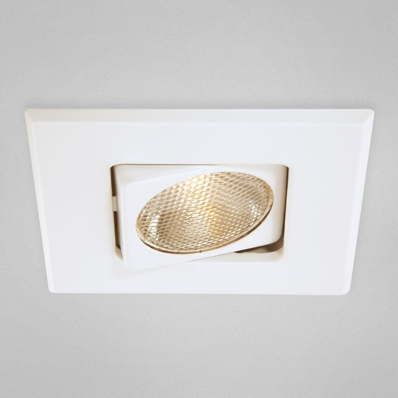"Eurofase Lighting 19167 4"" Square Adjustable Recessed Trim White Sale $20.00 ITEM: bci1377975 ID#:19167-02 UPC: 773546205702 :"