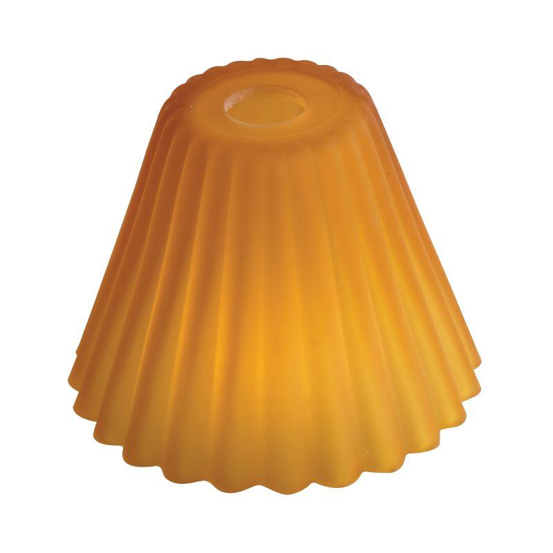 Eurofase Lighting Amber Glass Shade Amber Accessory Shades