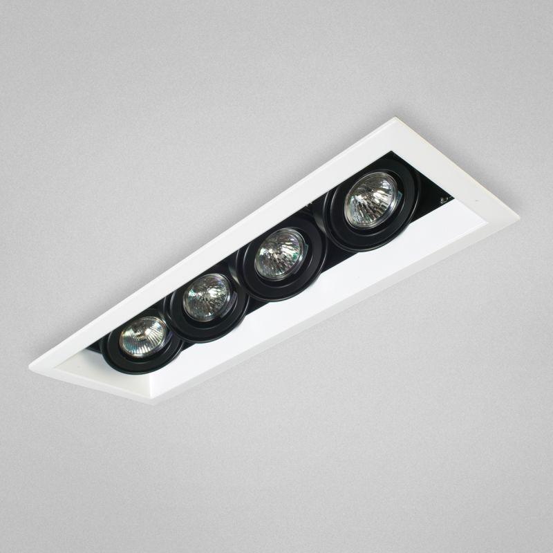 Eurofase Lighting TE114ATR MR16 Directional 4 Light Recessed Trim with
