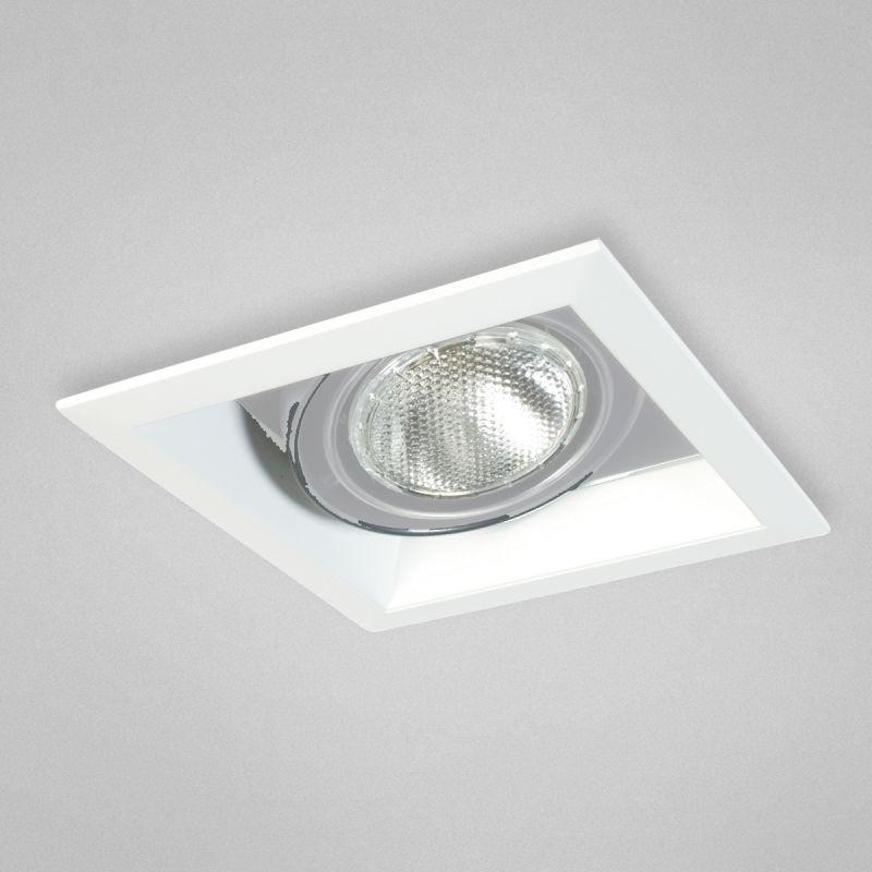 "Eurofase Lighting TE161 1 Light 7"" Square Adjustable Recessed Light"