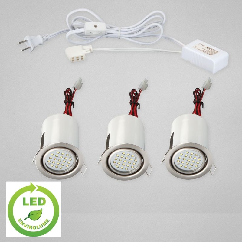 Eurofase Lighting 19542 3 Light Mini LED Adjustable Recessed Downlight Sale $138.00 ITEM: bci1378321 ID#:19542-027 UPC: 773546209229 :