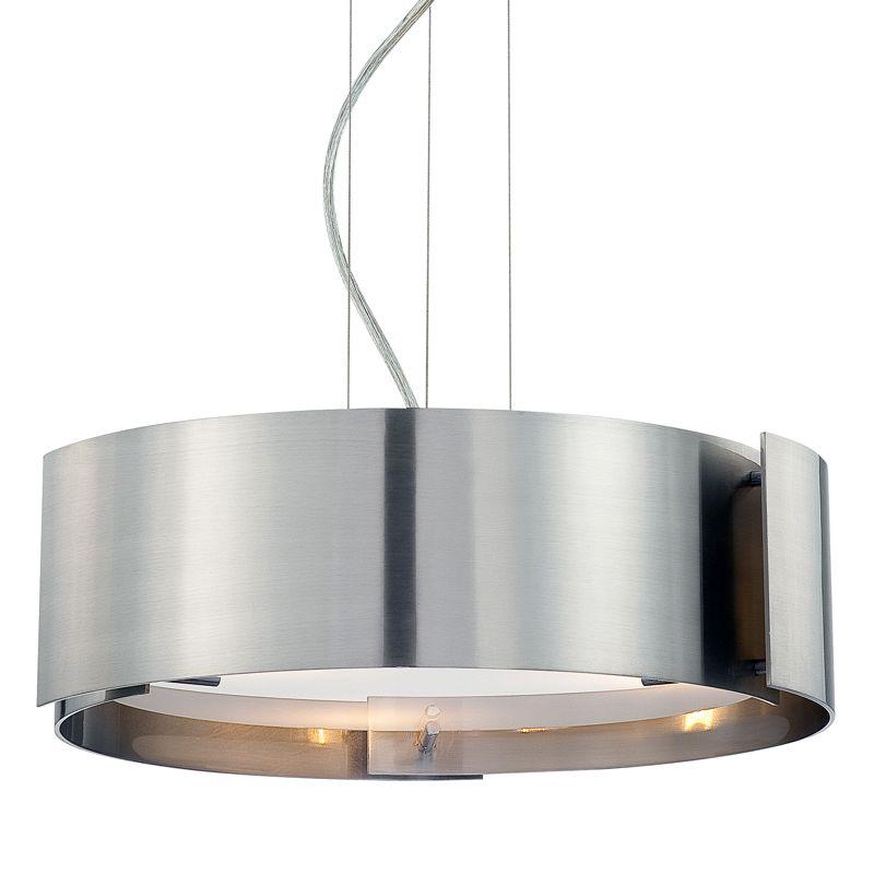 Eurofase Lighting 12530-052 Chrome Contemporary Dervish Pendant