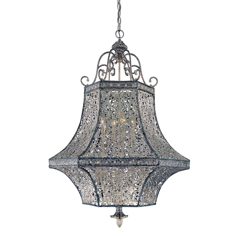 Eurofase Lighting 19365 8 Light Bellini Pendant from the Classics
