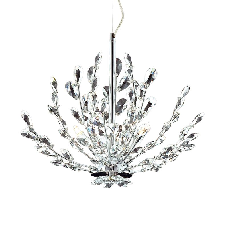 Eurofase Lighting 20320 Crystal 3 Light Foyer Pendant from the