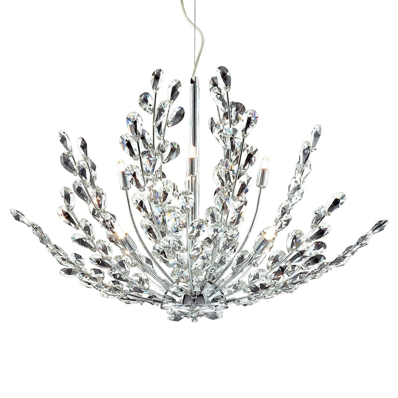 Eurofase Lighting 20321 Crystal 8 Light Foyer Pendant from the