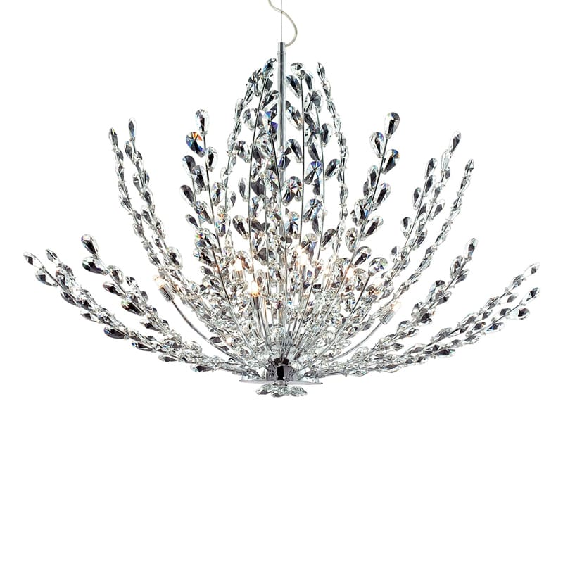 Eurofase Lighting 20322 Crystal 12 Light Foyer Pendant from the