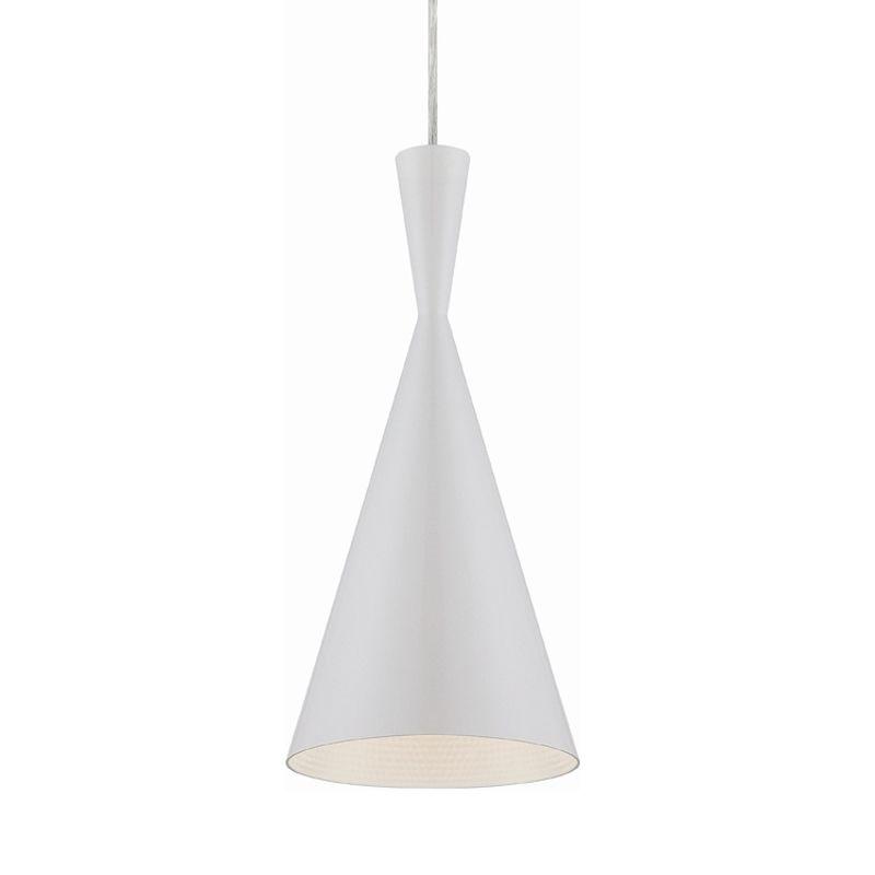 Eurofase Lighting 20437 Bronx 1 Light Pendant with Metal Cone Shade