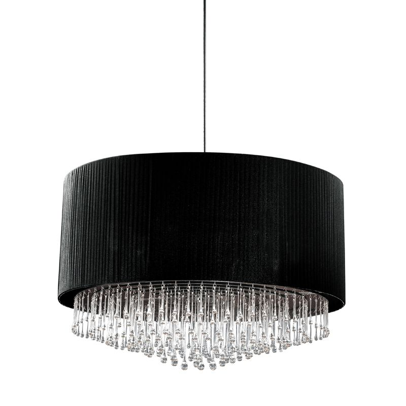 Eurofase Lighting 20586 Penchant 6 Light Pendant with Hanging Crystal