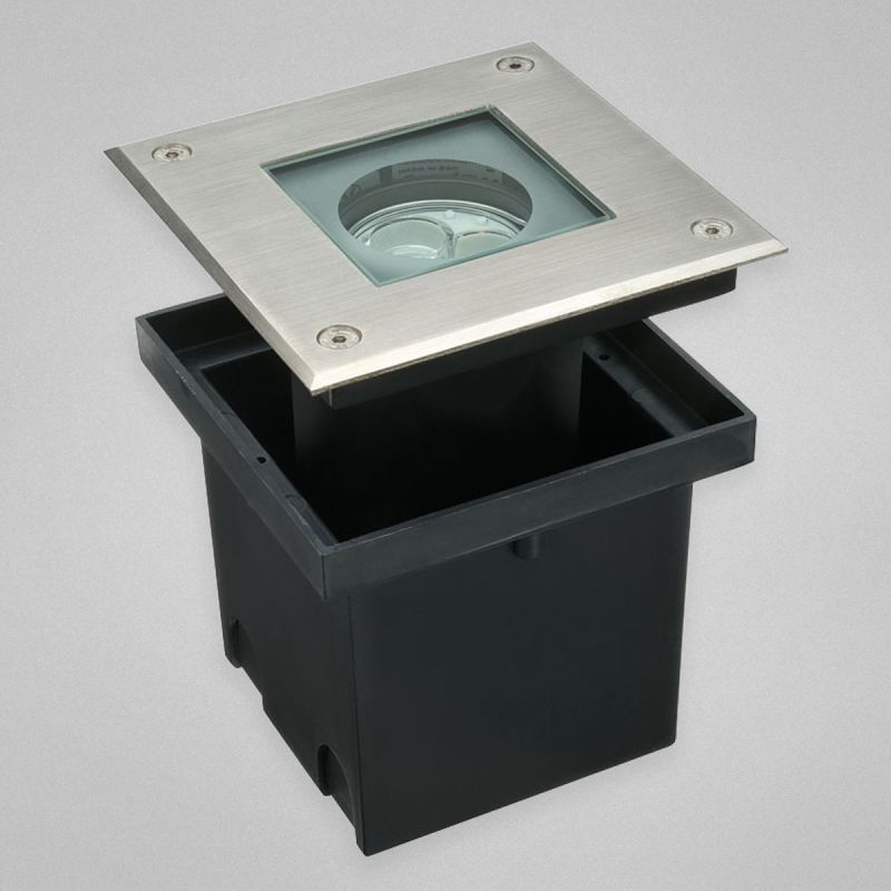 Eurofase Lighting 22523 Square Exterior In Ground LED Light Satin Sale $596.00 ITEM: bci2199010 ID#:22523-013 UPC: 773546230636 :