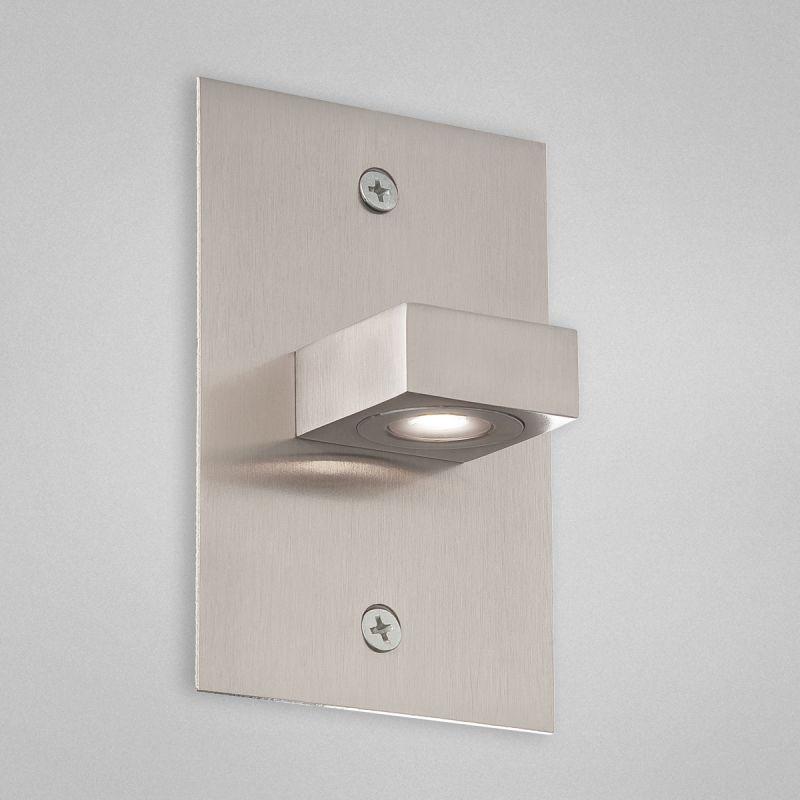Eurofase Lighting 22532 Indoor In Wall Square Down Light Satin Nickel