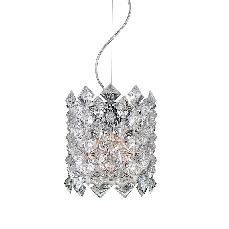 Eurofase Lighting 22813 Cristallo 3 Light Pendant with Prismatic Drum Sale $324.00 ITEM: bci1956621 ID#:22813-015 :