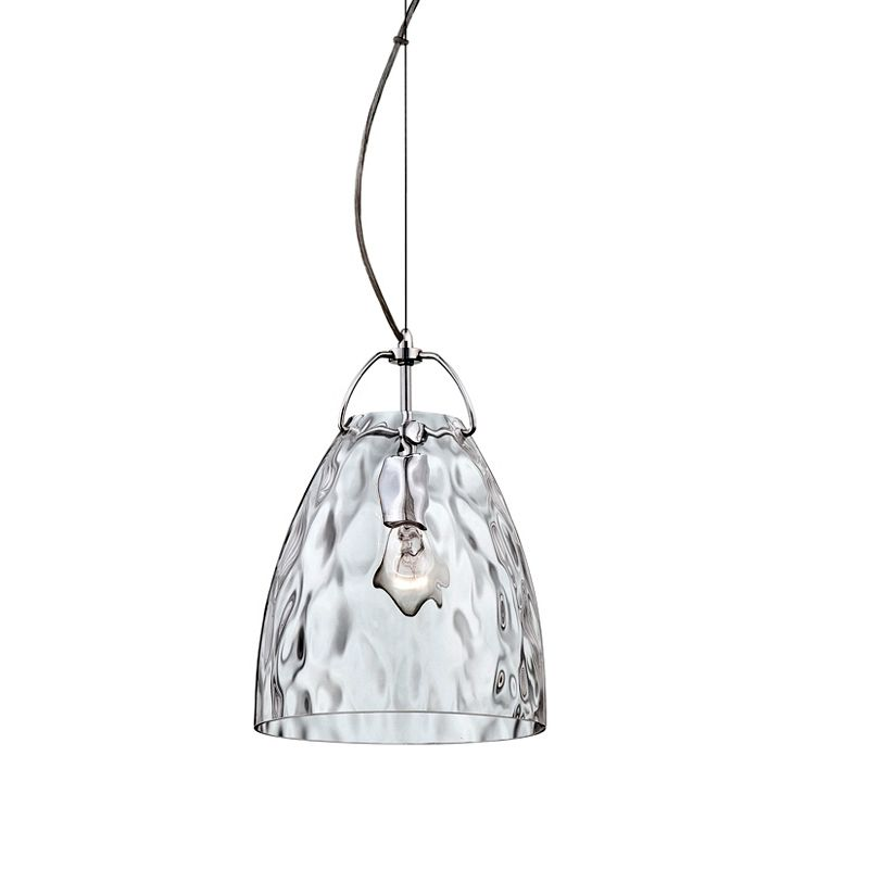 Eurofase Lighting 22900 Amero 1 Light Mini Pendant Chrome / Clear