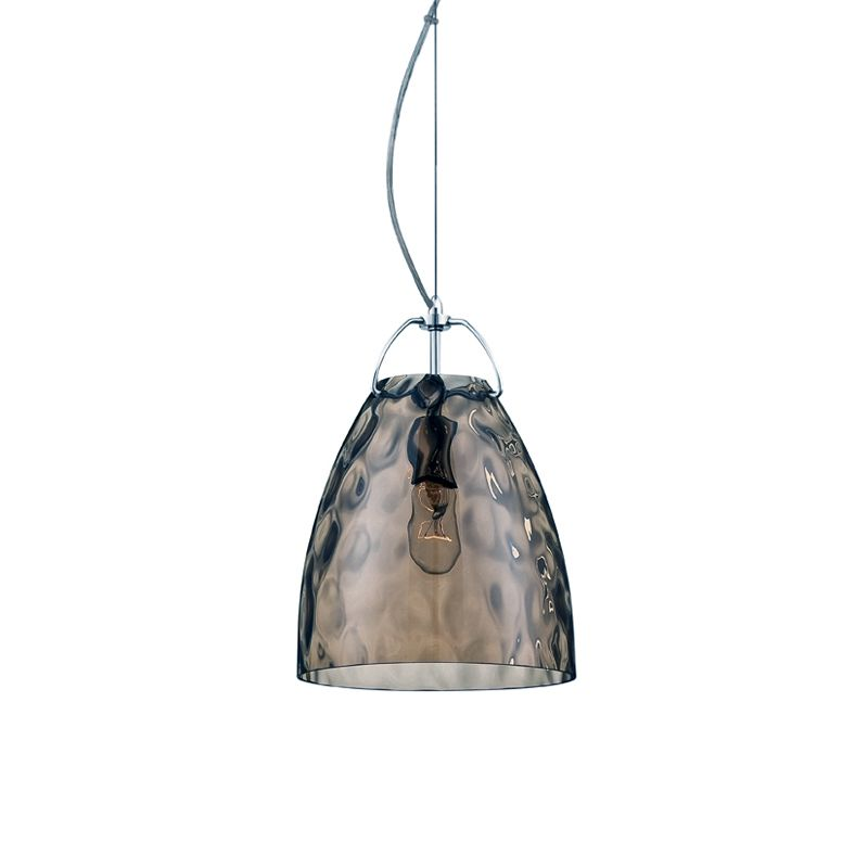 Eurofase Lighting 22900 Amero 1 Light Mini Pendant Chrome / Amber