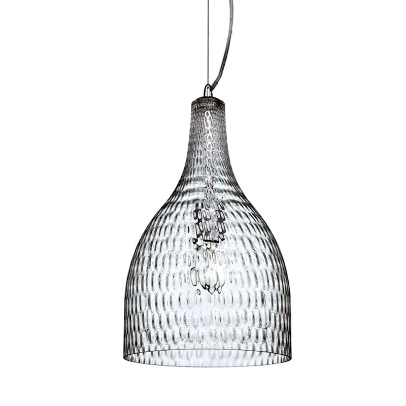 Eurofase Lighting 22904 Altima 1 Light Mini Pendant Chrome / Clear