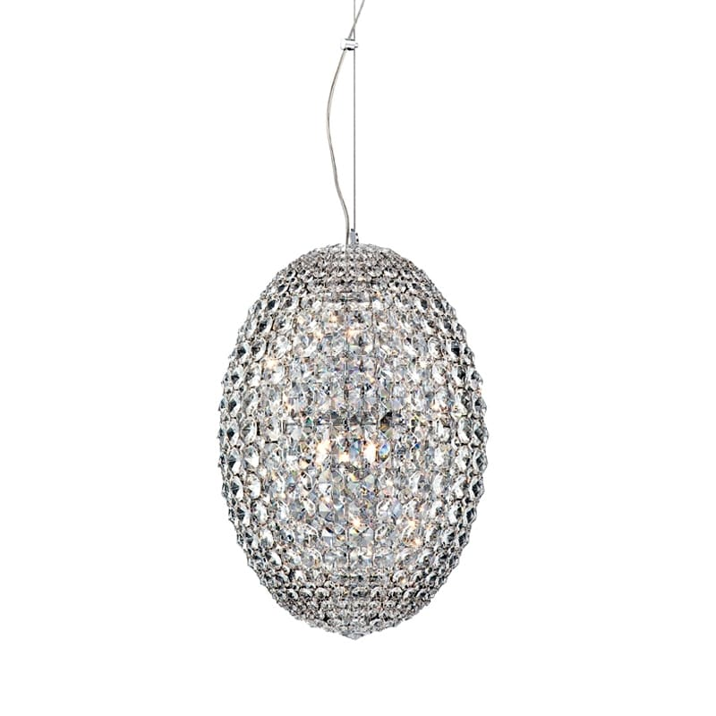 Eurofase Lighting 23012 Encore 12 Light Pendant with Clear Crystal