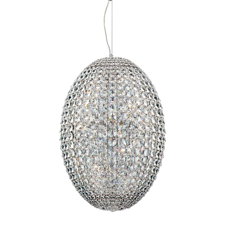 Eurofase Lighting 23013 Encore 18 Light Pendant with Clear Crystal
