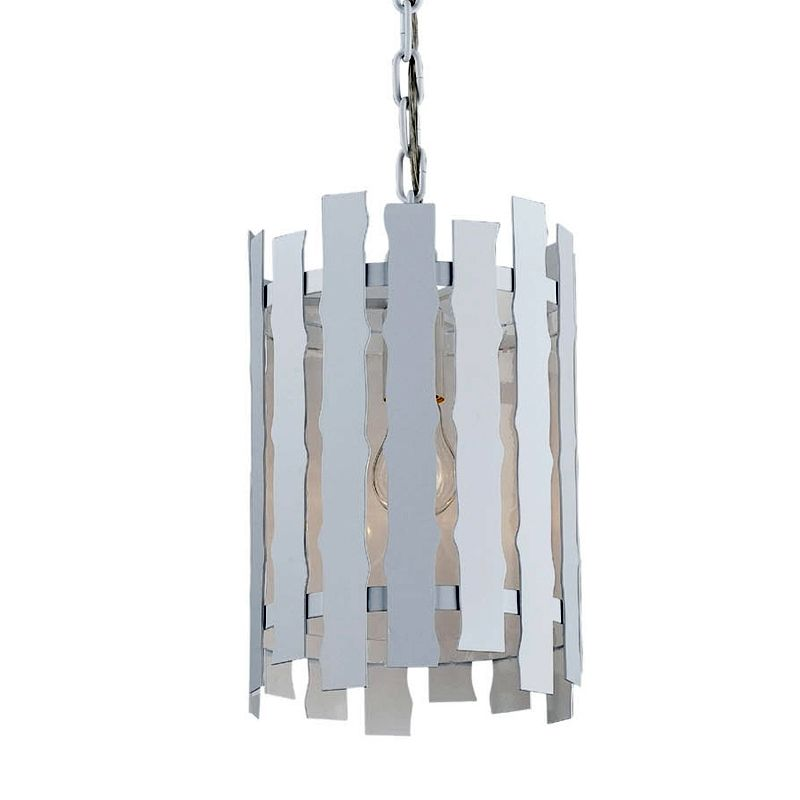 Eurofase Lighting 25609-028 White Contemporary Nastro Pendant