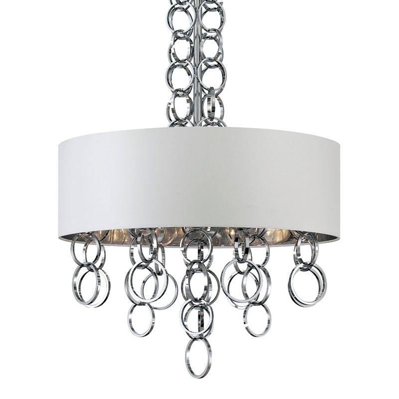 Eurofase Lighting 25613 Novello 4 Light Modern Drum Pendant with