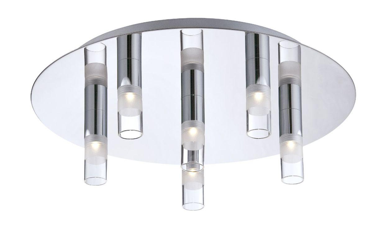 Eurofase Lighting 25675 Cube 6 Light Modern LED Flush Mount Ceiling