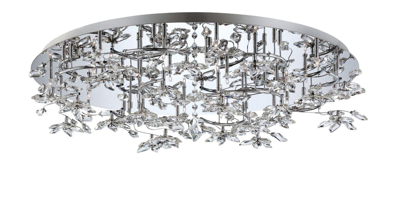 Eurofase Lighting 25680-010 Chrome Contemporary Vista Ceiling Light