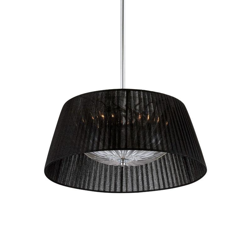 Eurofase Lighting 25706 Salvo 2 Light Pendant with Tapered Fabric