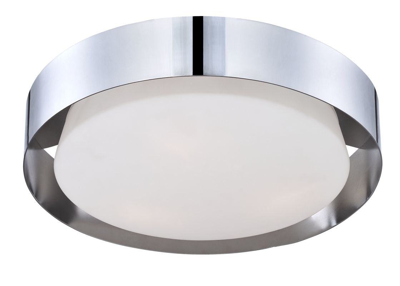 Eurofase Lighting 25732-023 Chrome Saturn 3 Light Flush