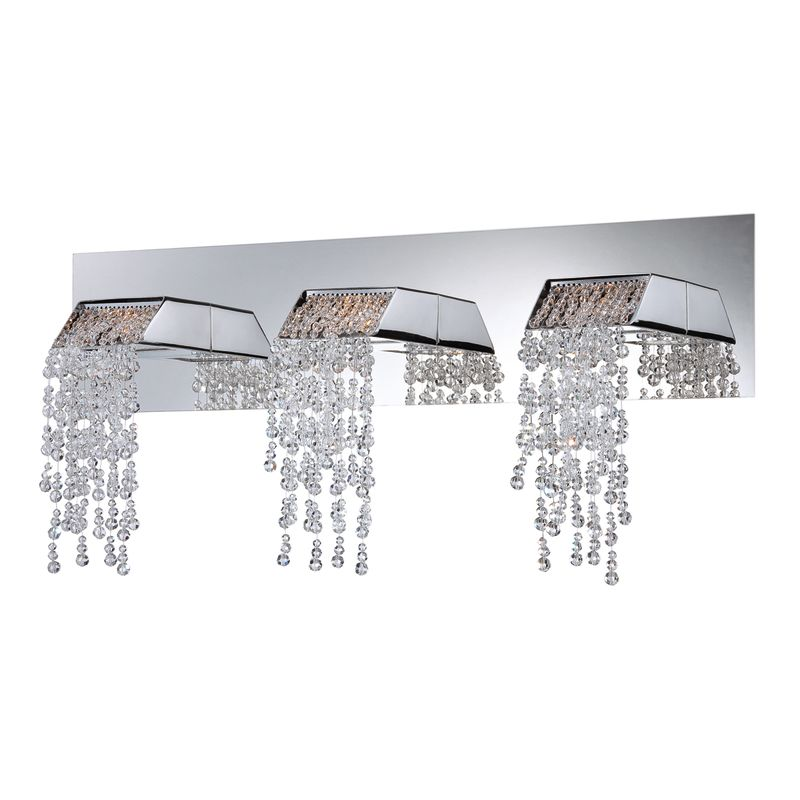 Eurofase Lighting 25812 Fonte 3 Light Crystal LED Bathroom Vanity Sale $386.00 ITEM: bci2238918 ID#:25812-015 UPC: 773546244190 :