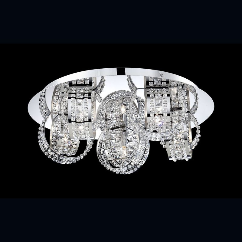 Eurofase Lighting 26325 Yorkville 5 Light Flush Mount Ceiling Fixture