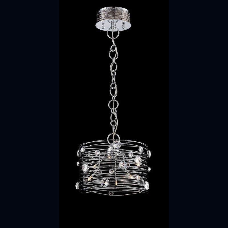 Eurofase Lighting 26341 Corfo 6 Light 1 Tier Chandelier with Faceted