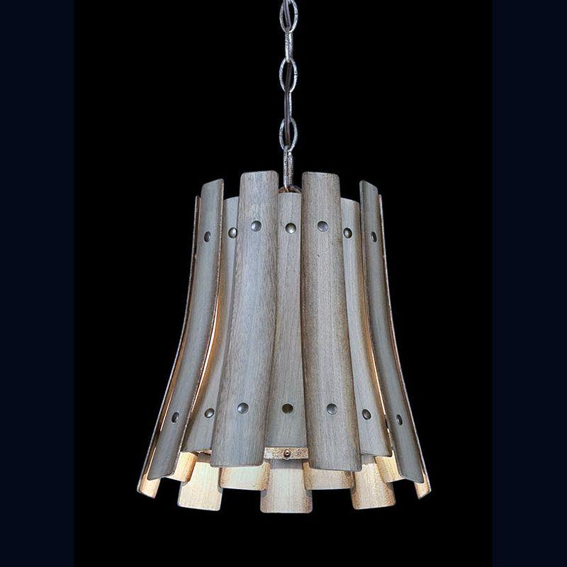 Eurofase Lighting 26362 Panello 1 Light Pendant with Bronzed Rivets