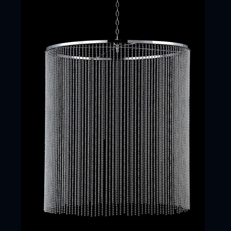 "Eurofase Lighting 26630 Bloomington Large Beaded Curtain 38"" Diameter"