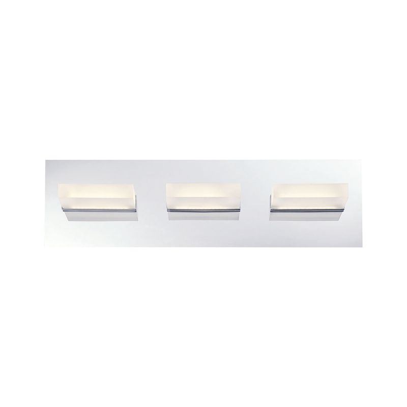 Eurofase Lighting 28020 Olson 3 Light LED Bathroom Vanity Fixture