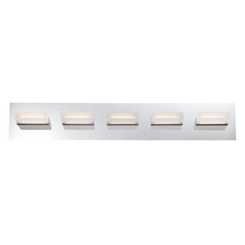 Eurofase Lighting 28022 Olson 5 Light LED Bathroom Vanity Fixture