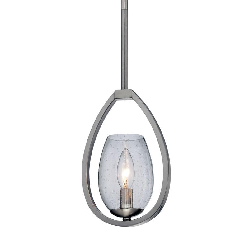 Eurofase Lighting 28075 Fantini 1 Light Pendant Satin Nickel Indoor