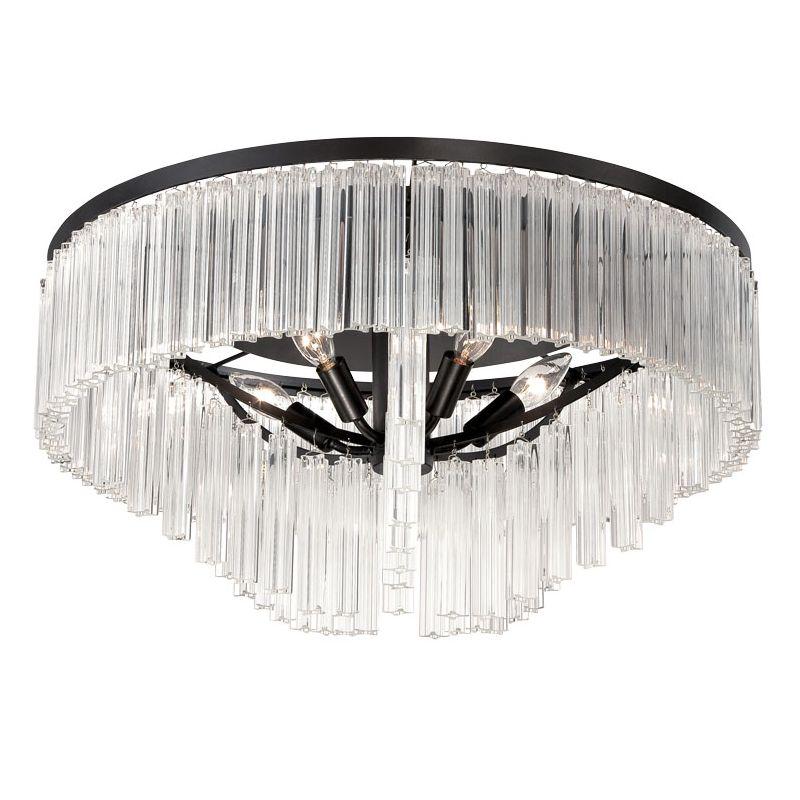 Eurofase Lighting 28082 Ziccardi 5 Light Flush Mount Ceiling Fixture