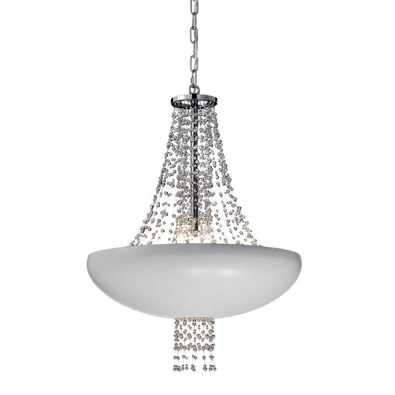 Eurofase Lighting 28108 Lopez 8 Light Pendant Matte White Indoor