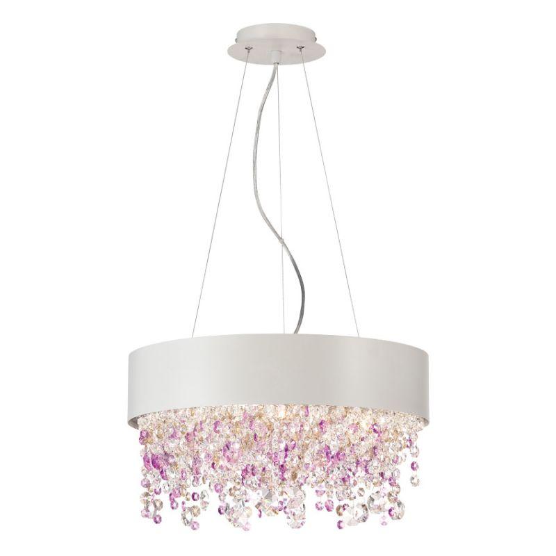 Eurofase Lighting 28149 Romanelli 4 Light Chandelier White Indoor